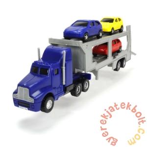 Dickie 32 cm-es Autószállító kamion - Kék (3746000)