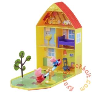 Peppa malac kertes ház figurával játékszett (PEP06156)