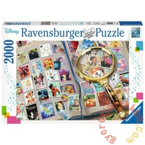 Ravensburger 2000 db-os puzzle - Disney bélyeggyűjtemény (16706)