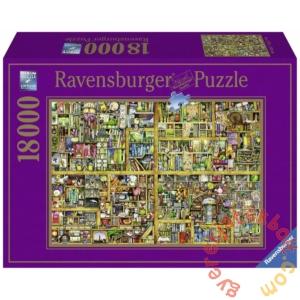 Ravensburger 18000 db-os puzzle - Varázslatos könyvespolc - Colin Thompson (17825)