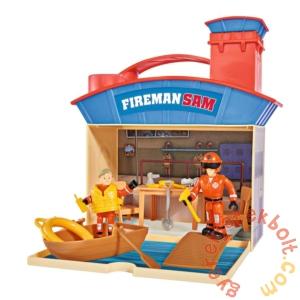 Simba Sam, a tűzoltó - Vízimentő központ játékszett két figurával (1033)