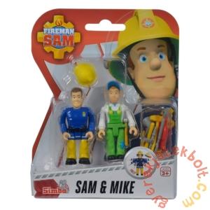 Simba Sam, a tűzoltó figura 2 db-os szett - Sam és Mike (7651)