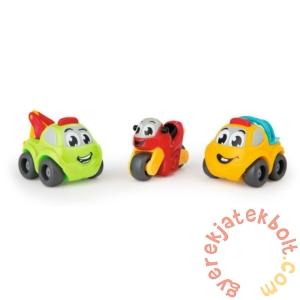 Smoby Vroom Planet 3 db-os műanyag kisautó szett - Járművek (120201)