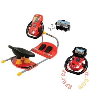 Smoby V8 Driver elektronikus autó szimulátor mobiltartóval (370205)
