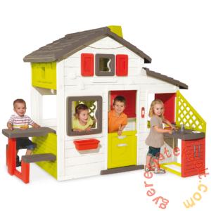 Smoby Jóbarátok háza konyhapulttal (810200)