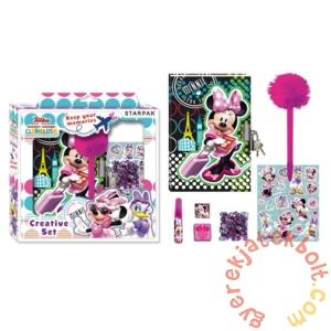 Minnie Mouse kreatív készlet naplóval (375198)
