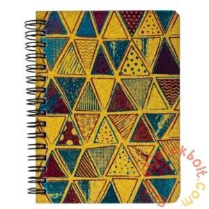 Spirálos notesz A6 - Háromszögek (395961)