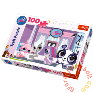 Trefl 100 db-os puzzle - Littlest Pet Shop (16198)