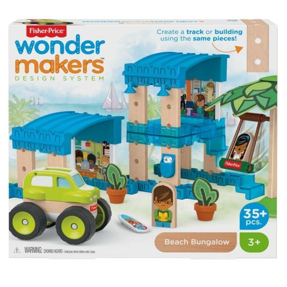Fisher-Price Wonder Makers - Tengerparti bungaló (GFJ13-GFJ11)