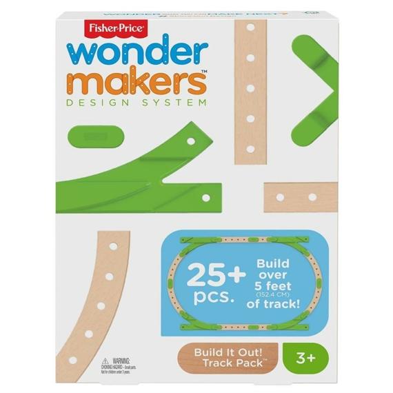Fisher-Price Wonder Makers - Vagány pályakiegészítő (GFP81/GFP62)