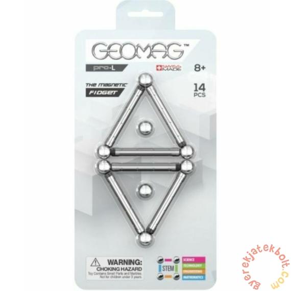 Geomag PRO-L Fidget - 14 db-os mágneses építőjáték készlet