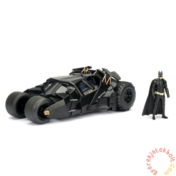 Batman - Batmobile fém autómodell figurával - The Dark Knight - 20 cm (253215005)