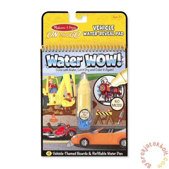 Melissa and Doug rajzolás vízzel - Járművek (5375)