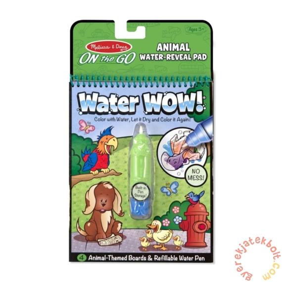Melissa and Doug rajzolás vízzel - Állatok (5376)