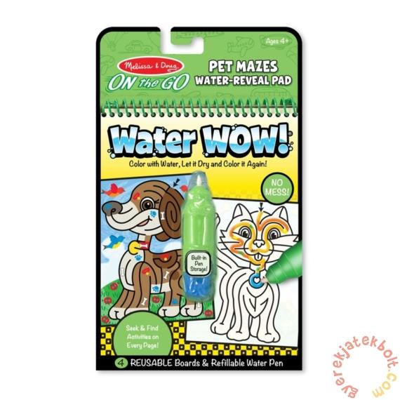 Melissa and Doug rajzolás vízzel - Útvesztő (9484)
