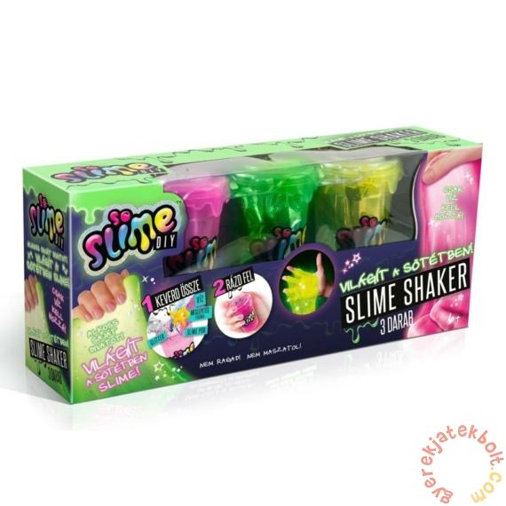 So Slime Shaker 3 db-os szett - Világítós (SSC030)
