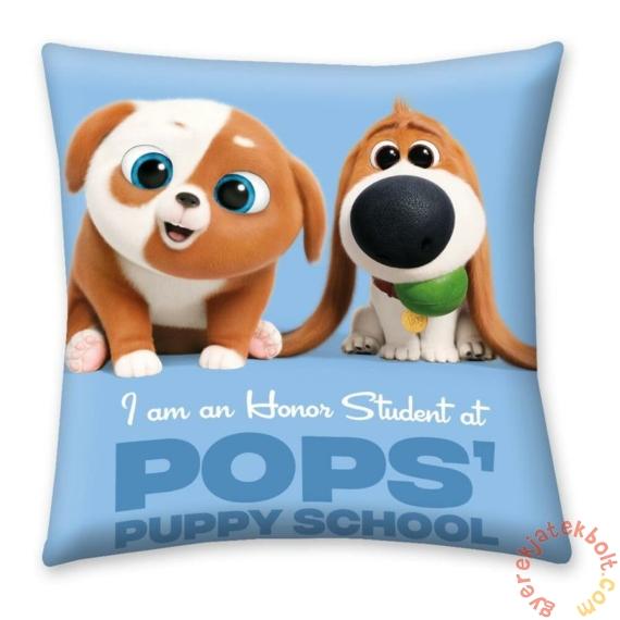 A kis kedvencek titkos élete 2 párna - Puppy school - 40 x 40 cm-es