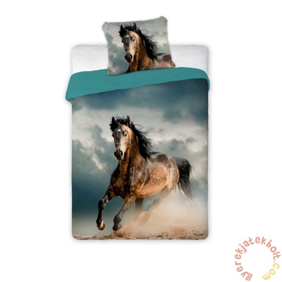 Best Friends lovas ágyneműhuzat szett - Barna ló