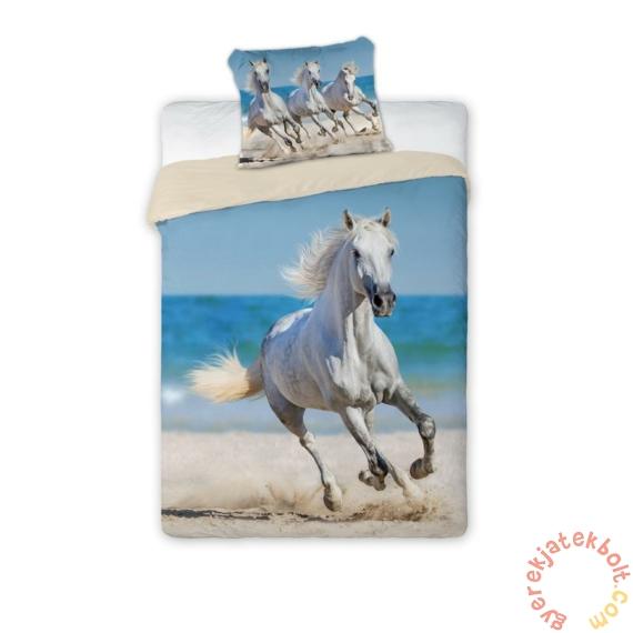 Best Friends lovas ágyneműhuzat szett - Fehér ló