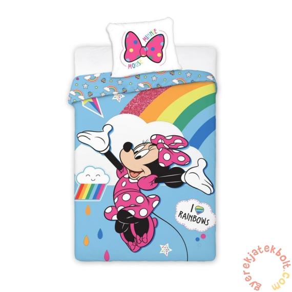 Minnie Mouse ágyneműhuzat szett - I love rainbows