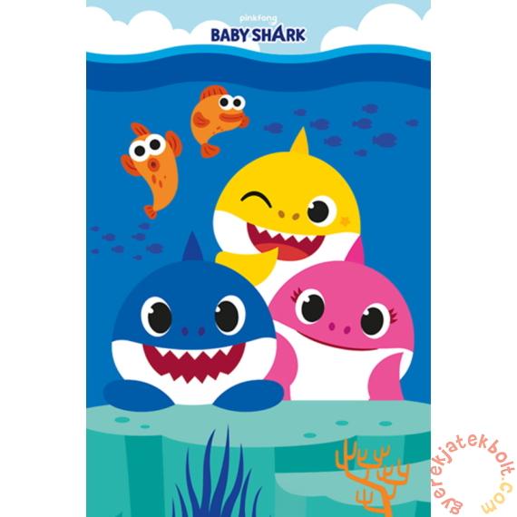 Baby Shark polár takaró 100x150 cm