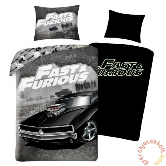 Fast & Furious ágyneműhuzat szett - Sötétben világító felirattal