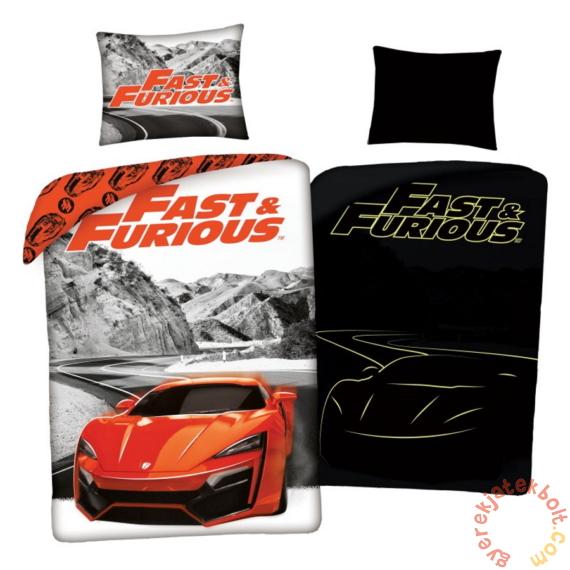 Fast and Furious ágyneműhuzat szett - Sötétben világító felirattal