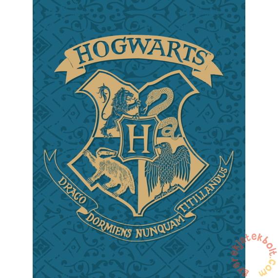 Harry Potter polár takaró - Roxforti házak 130 x 170 cm