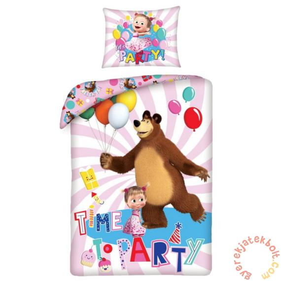 Mása és a medve ágyneműhuzat szett - Time to Party