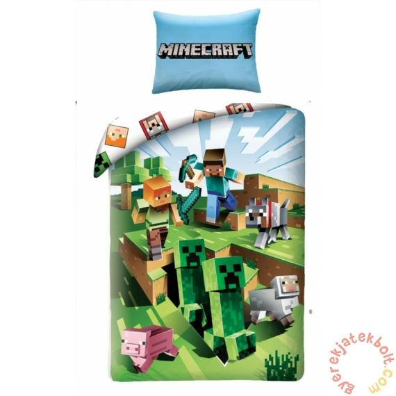 Minecraft Ágyneműhuzat szett - Creepers (MNC-129BL)