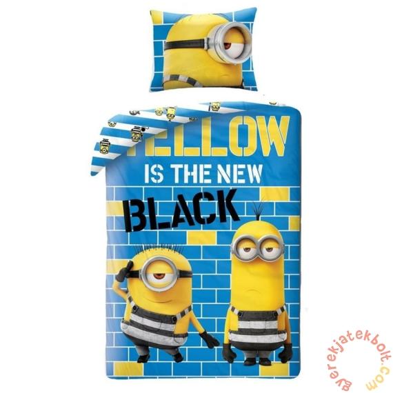 Minyonok Ágyneműhuzat szett - Gru 3 - Yellow is the new black