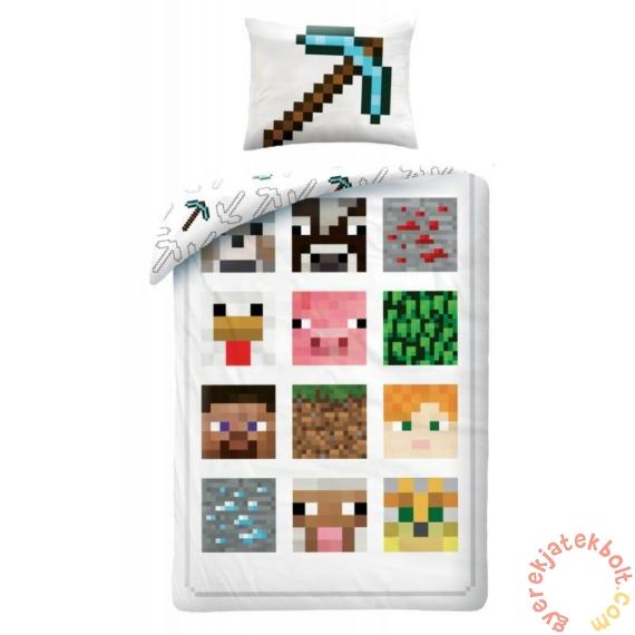 Minecraft Ágyneműhuzat szett - Kollázs (MNC-012BL)