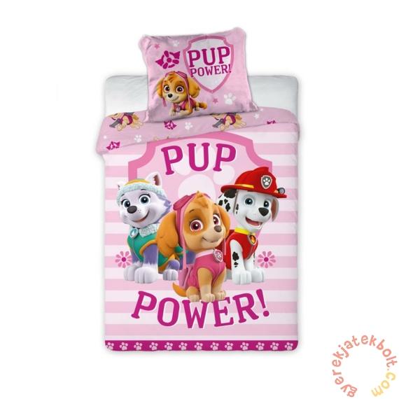 Mancs őrjárat ovis ágyneműhuzat szett - Pup power
