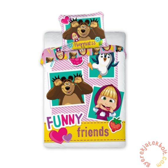 Mása és a medve ovis ágyneműhuzat szett - Funny Friends
