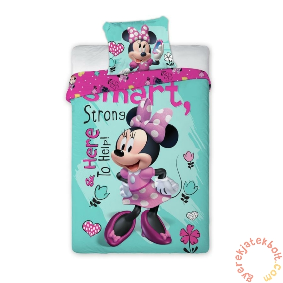 Minnie Mouse - Smart ovis ágyneműhuzat szett