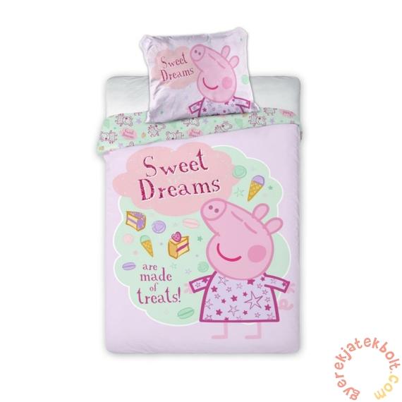 Peppa malac ovis ágyneműhuzat szett - Sweet Dreams rózsaszín