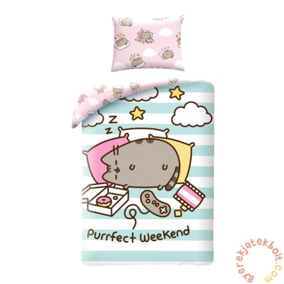 Pusheen cicás ágyneműhuzat szett - Purrfect Weekend