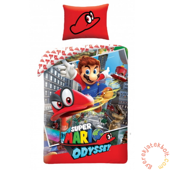 Super Mario ágyneműhuzat szett - Odyssey