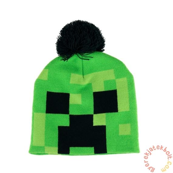 Minecraft téli sapka pomponnal