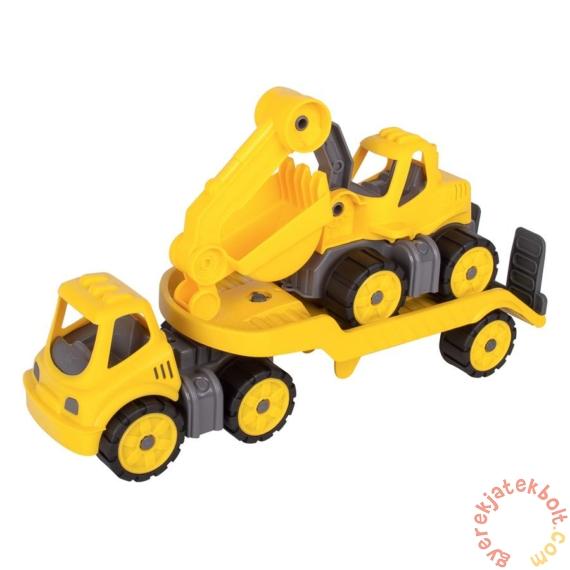 Big Power Worker - Mini Autószállító markolóval (55805)