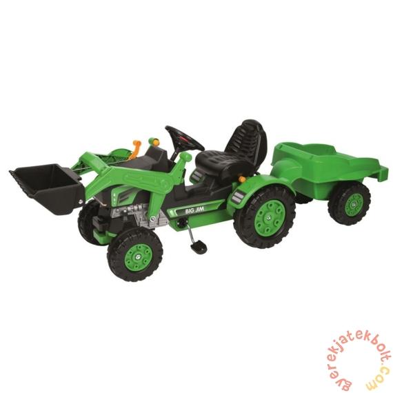 Big Jim traktor homlokrakodóval (56516)
