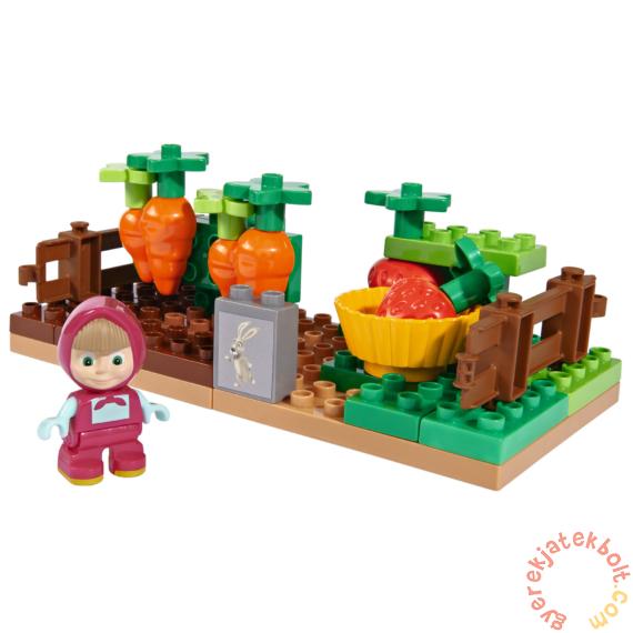 Play Big Bloxx Mása és a medve - Mása kertje építőszett (57091)