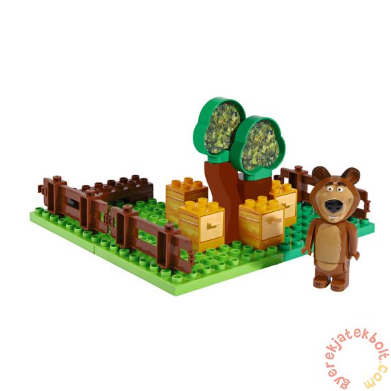 Play Big Bloxx Mása és a medve - Misa kertje építőszett (57092)
