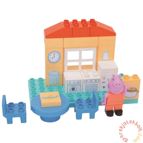Play Big Bloxx Peppa malac alapszett - Mama malac konyhája építőszett (57102)