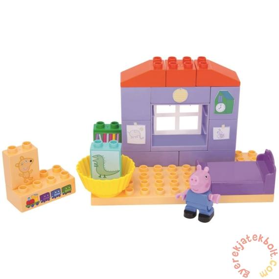 Play Big Bloxx Peppa malac alapszett - Zsoli szobája építőszett (57102)