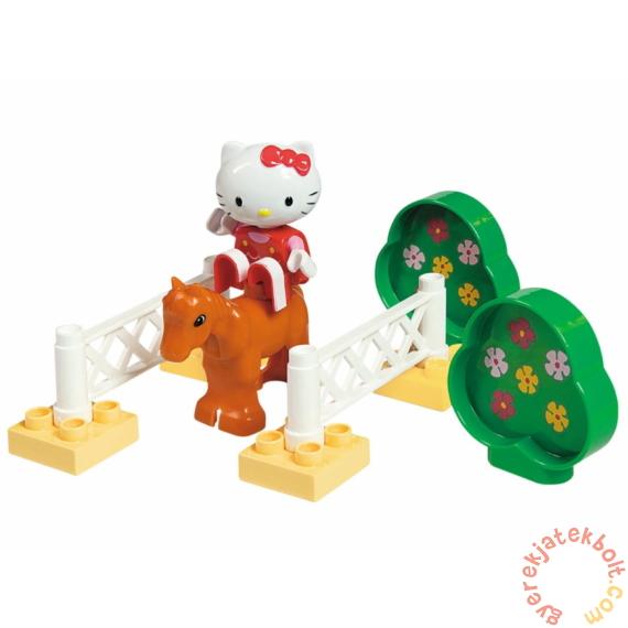 Play Big Bloxx Hello Kitty - Lovaspályán kezdő építőszett