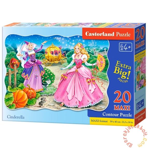 Castorland 20 db-os MAXI puzzle - Hamupipőke (C-02313)