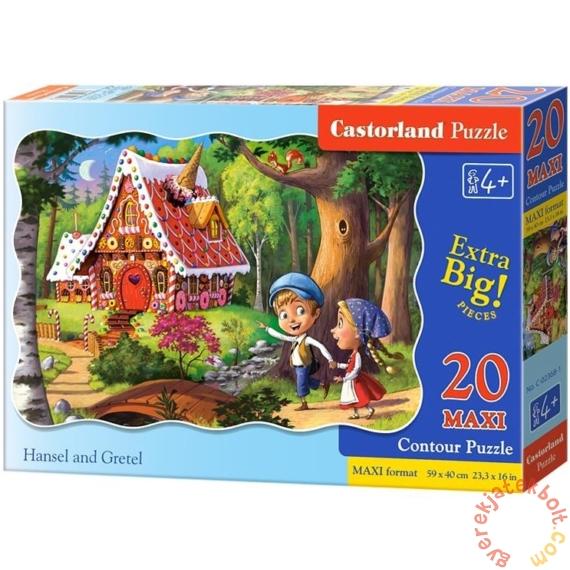Castorland 20 db-os MAXI puzzle - Jancsi és Juliska (C-02368)
