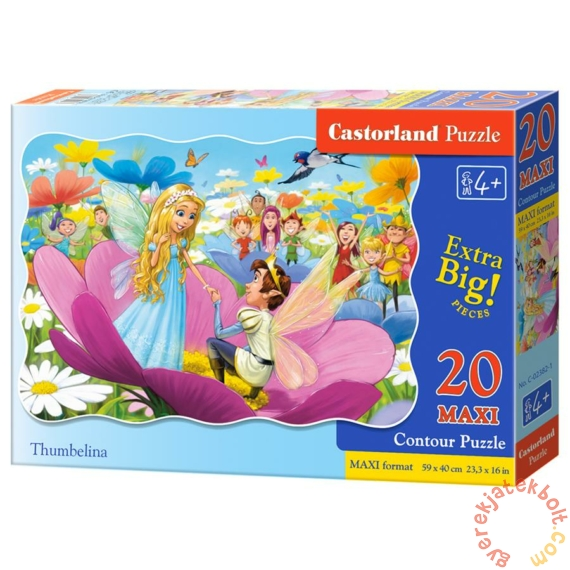 Castorland 20 db-os MAXI puzzle - Pöttöm Panna (C-02382)