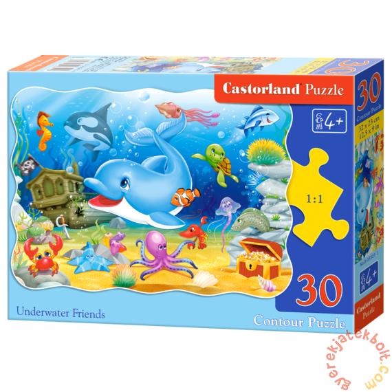 Castorland 30 db-os puzzle - Víz alatti barátok (B-03501)